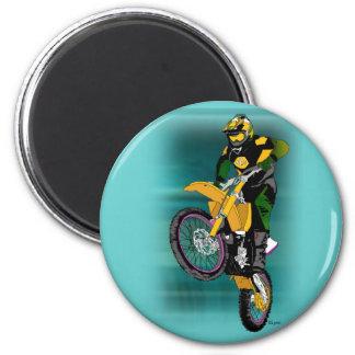 Motocross 408 magnet