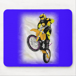 Motocross 410 mouse pad