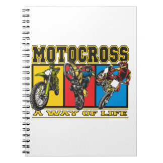 Motocross A Way of Life Notebooks