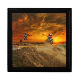 Motocross at dusk gift box