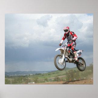 Motocross Bike Poster