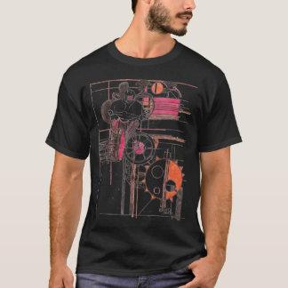 Motocross black t-shirt