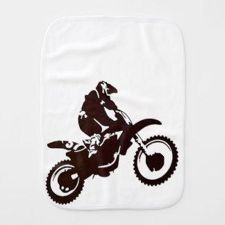 Motocross Burp Cloth