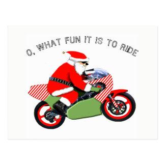 motocross Christmas cards
