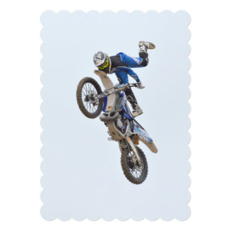 Motocross Extreme Tricks Card