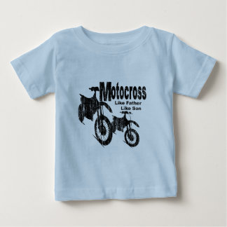 Motocross Father/Son Baby T-Shirt