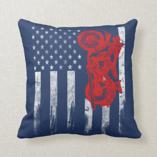 Motocross Flag Cushion