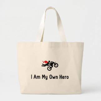 Motocross Hero Jumbo Tote Bag