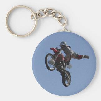 Motocross Jump Key Ring