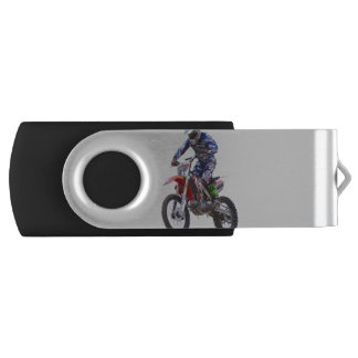 Motocross Jump USB Flash Drive