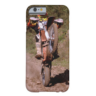 Motocross rider pops a wheelie. barely there iPhone 6 case