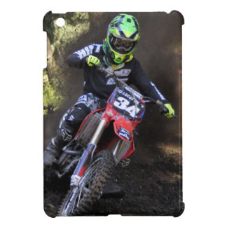 Motocross rider tearing up the track iPad mini cases