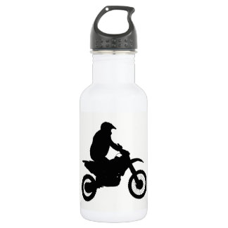 Motocross Silhouette 532 Ml Water Bottle