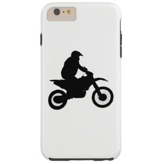 Motocross Silhouette Tough iPhone 6 Plus Case