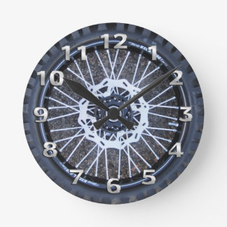 Motocross Tire Clock