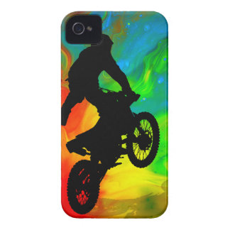 Motocrossing in a Solar Meltdown Case-Mate iPhone 4 Cases