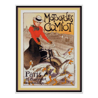 Motocycles Comiot Poster