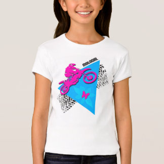 MotoGirl Girl's Fitted Babydoll T-Shirt