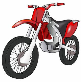 Motor Bike Sports Mud Dirt Dad Son Red Art Fun Photo Sculpture Key Ring