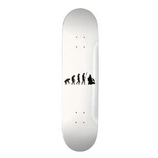 motor cart evolution custom skate board