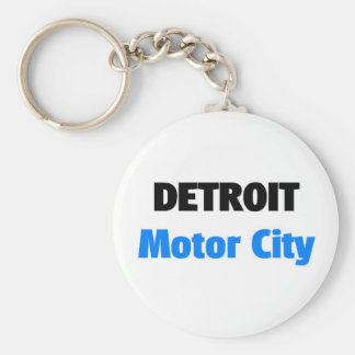 Motor City Detroit Key Ring