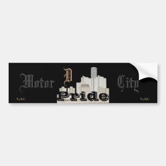 Motor City Pride (sticker) Bumper Sticker