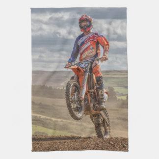 Motor cross towel