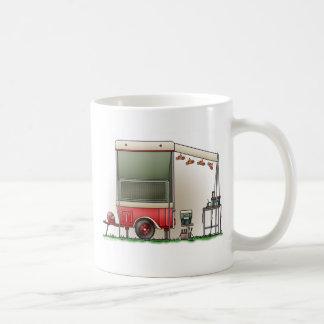 Motor Cycle Trailer Camper Coffee Mugs