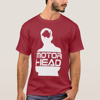 motor head white logo T-Shirt