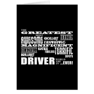 Motor Sports Racing Drivers Greatest Driver World Card