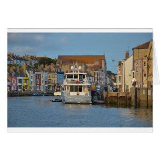 Motor Yacht In Weymouth Card
