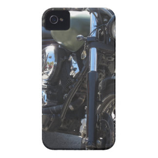 Motorbike in the parking lot . Outdoors lifestyle iPhone 4 Case-Mate Cases