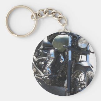 Motorbike in the parking lot . Outdoors lifestyle Key Ring
