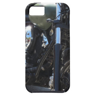 Motorbike in the parking lot . Outdoors lifestyle Tough iPhone 5 Case