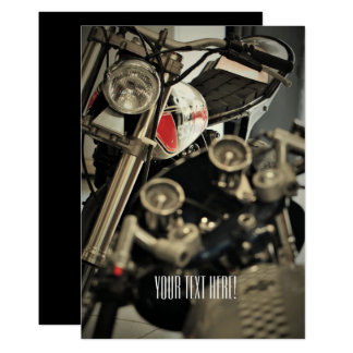 Motorbike Motorcycle Biker All Purpose Invitation