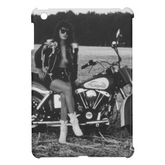 Motorbike Pinup Girl Cover For The iPad Mini