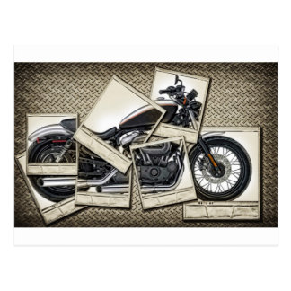 Motorbike Postcard