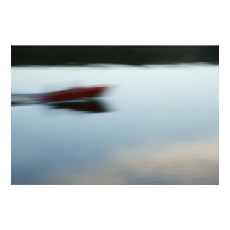 Motorboat abstractly photo print