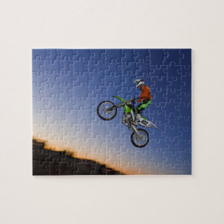 Motorcross Rider Puzzle