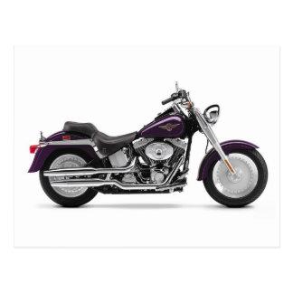 Motorcycle 14 postcard