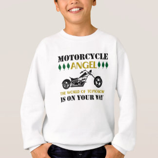 Motorcycle Angel Sweatshirt