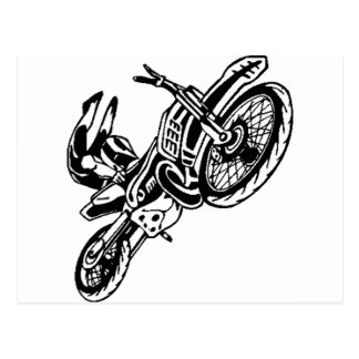 Motorcycle Apparel and Gear Postcards