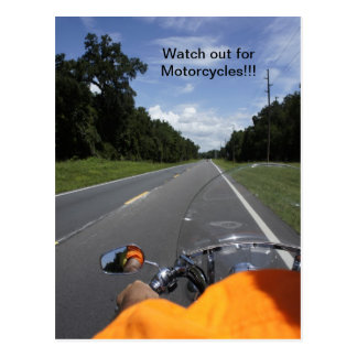 Motorcycle Awareness Post Cards