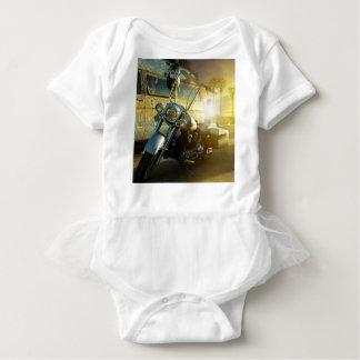 motorcycle baby bodysuit