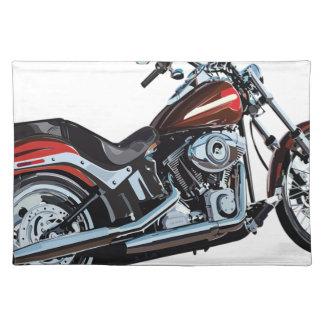 Motorcycle Bike Biker Placemat