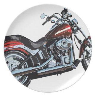 Motorcycle Bike Biker Plate