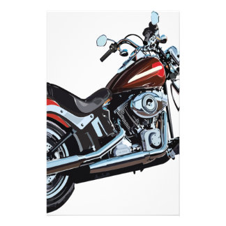 Motorcycle Bike Biker Stationery