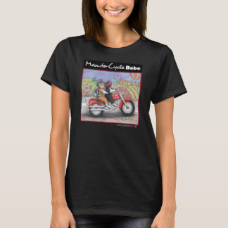 Motorcycle Cats Fine Jersey T-Shirt