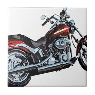 motorcycle ceramic tile