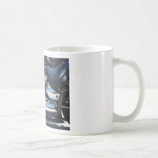 Motorcycle chromed engine closeup detail Side view Coffee Mug